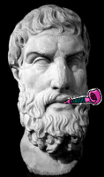 Epicurus has fun
